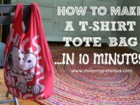T shirt 200x150 11 Creative DIY Tote Bags