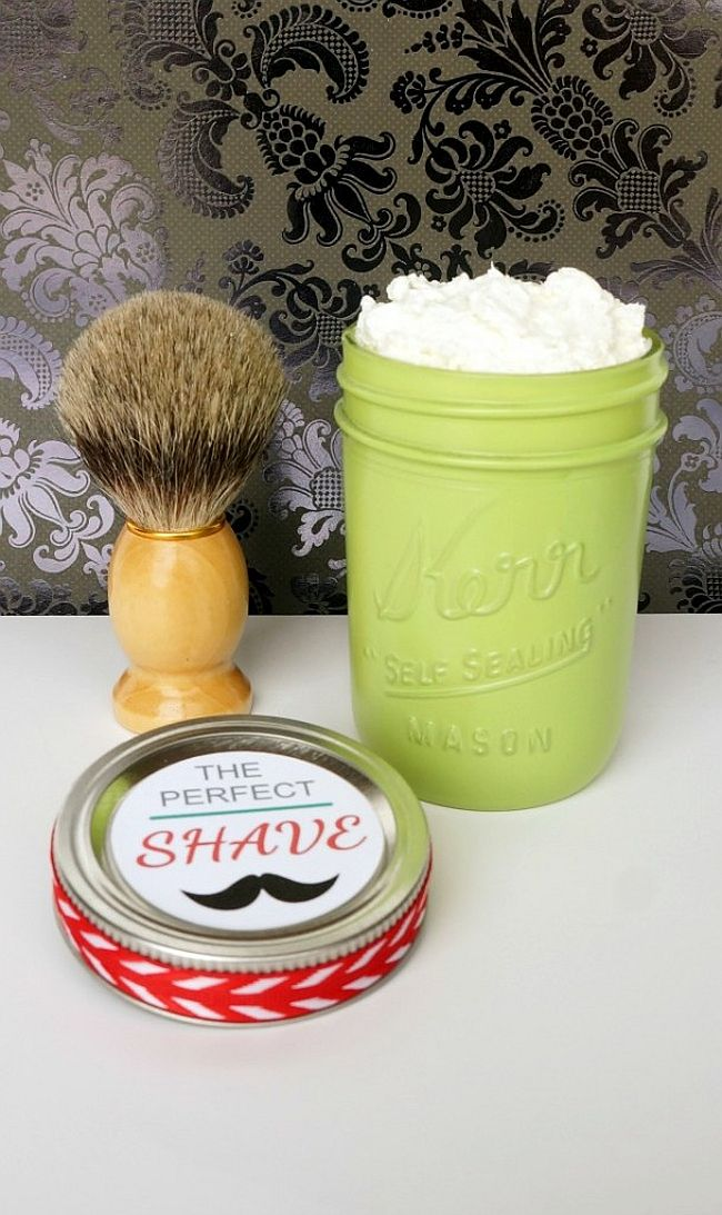 The Perfect Shave gift in a jar