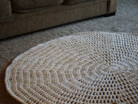 Thick And Quick 200x150 Stunning DIY Crochet Rug Ideas