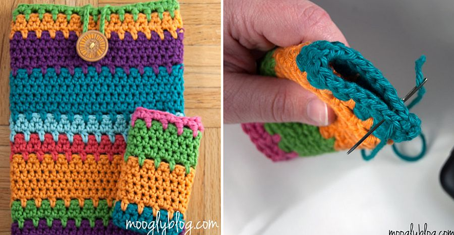 Ultimate Universal Electronics Cozy 7 Free iPad Crochet Sleeve Patterns