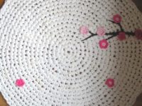 Upcycled 200x150 Stunning DIY Crochet Rug Ideas