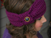 Wintertide Headband 200x150 Update Your Wardrobe with these Pretty Crochet Headbands