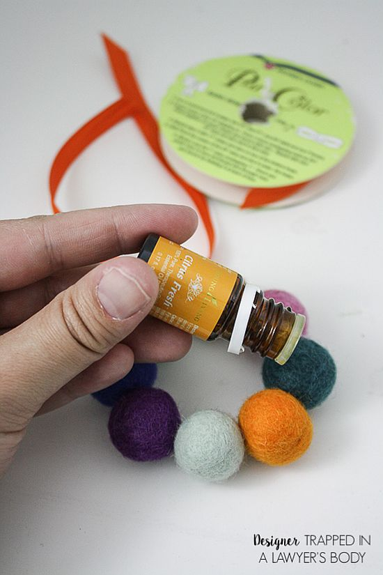 Wool Air Freshener