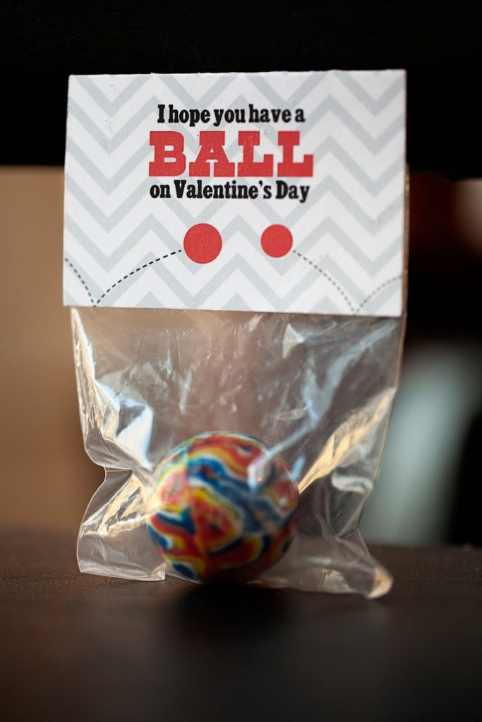ball valentine project