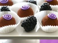 blackberry truffles 200x150 14 Mouth Watering Recipes for Homemade Truffles