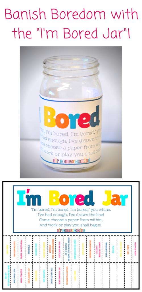 boredom busting jar