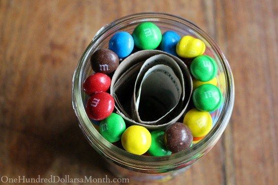 candy and money jar
