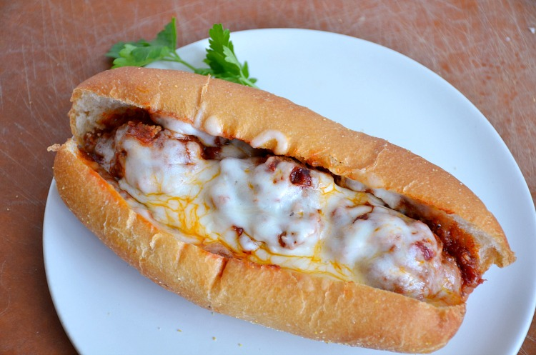 Crock pot meatball sub recipe