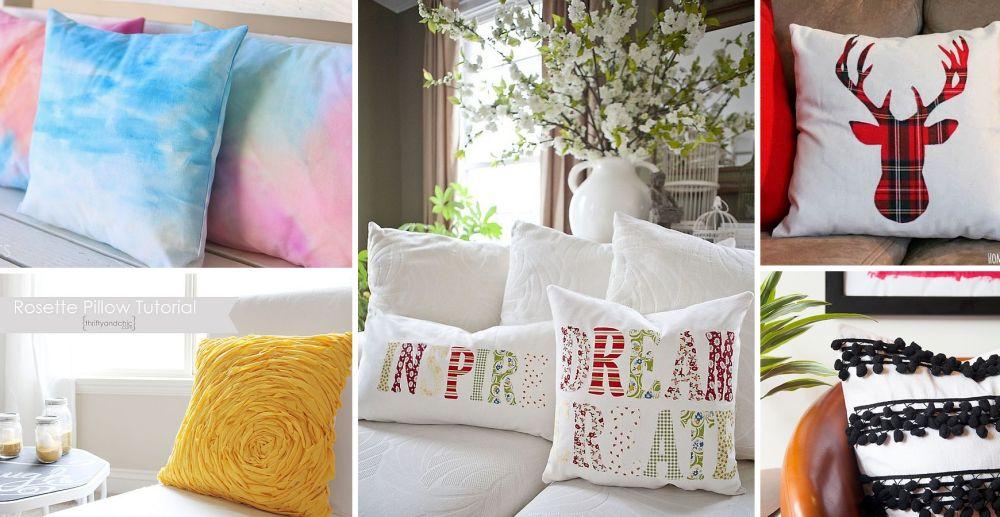 diy pillow decorations