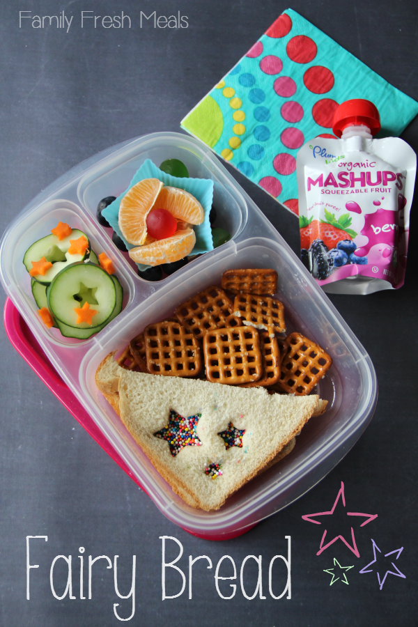 fairy bread bento