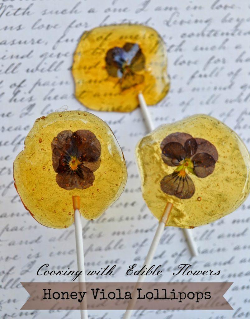honey lollipops