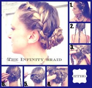 Infinity Braid Updo