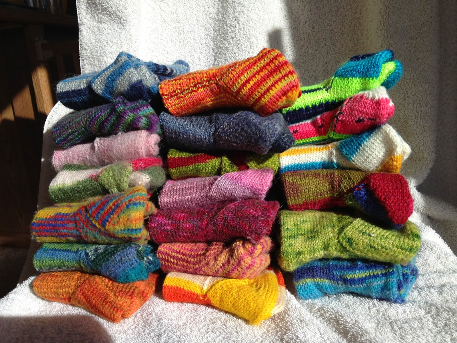 knitting piles
