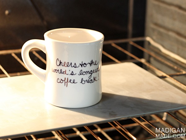 How To Design Your Own Custom Mugs Using Sharpies