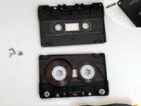 open cassette 200x150 How to Make a Fun Cassette Tape Wallet