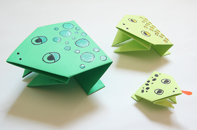 origami-frogs
