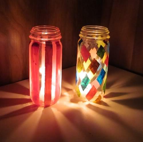 Twinkle twinkle little jars night light
