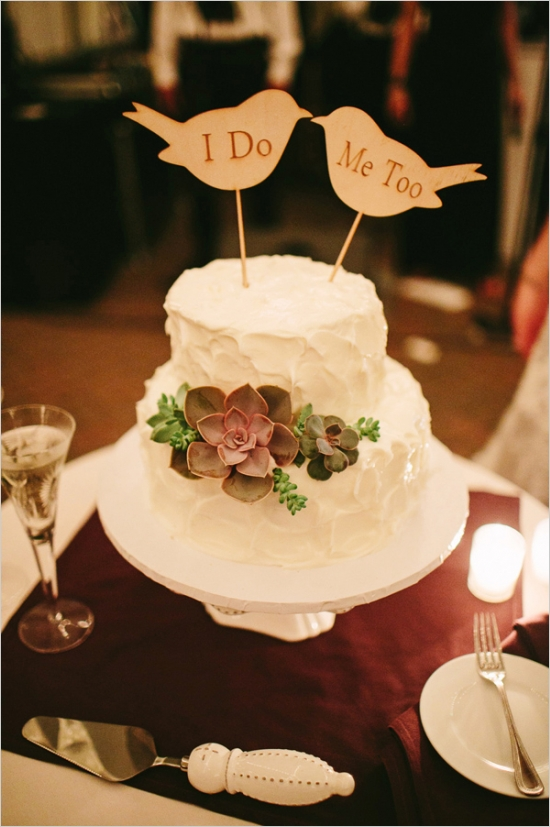 paper bird wedding cake topper