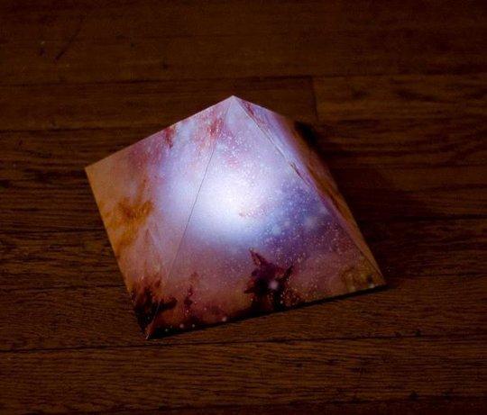 pyramid night light