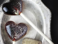 red wine lollipops 200x150 Homemade Gourmet Lollipops Upgrade a Classic Childs Treat