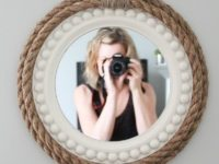 rope wrapped 200x150 DIY Mirror Décor Ideas That Will Blow Your Mind
