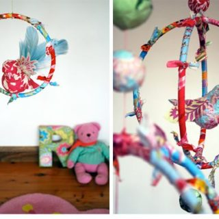 Adorable DIY Baby Mobiles Made From Upcycled Materials