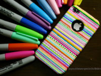 sharpie phone case 200x150 9 Amazing Ways to Use Your Sharpie Markers