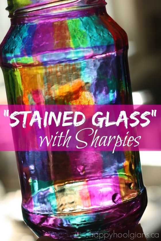 stained glass sharpies