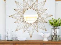 sunburst 200x150 DIY Mirror Décor Ideas That Will Blow Your Mind