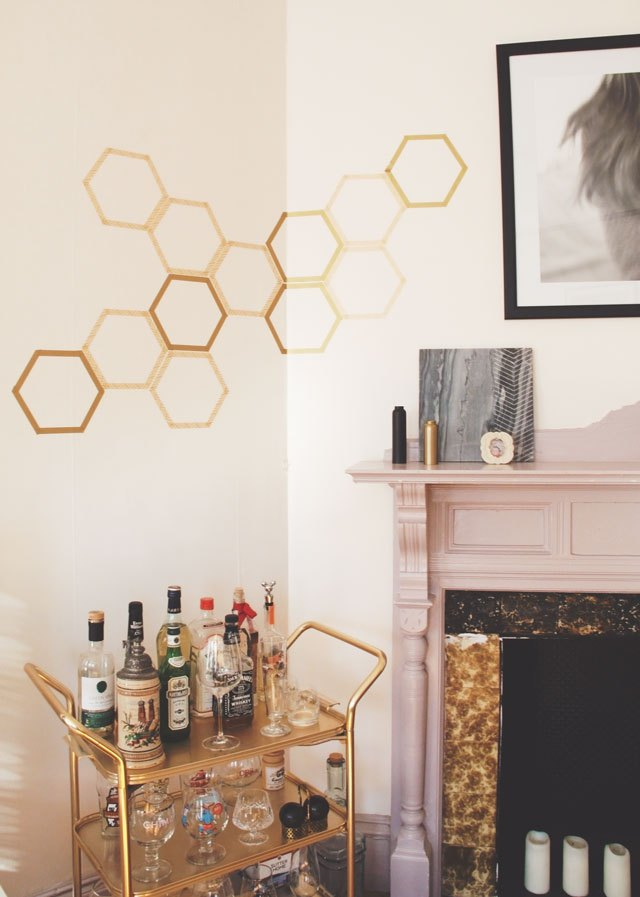 washi wall art