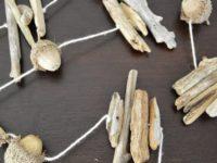 Acorn Driftwood Garland 200x150 Usher in Coastal Charm: Handmade Driftwood Garlands