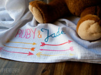 Arrow Baby Blanket 200x150 Endearing DIY Fabric Baby Blankets to Wrap Your Bundle of Joy In