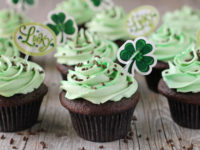 Baileys Irish Cream cupcakes 200x150 16 Green St Patricks Day Recipes That Will Make Your Day Brighter