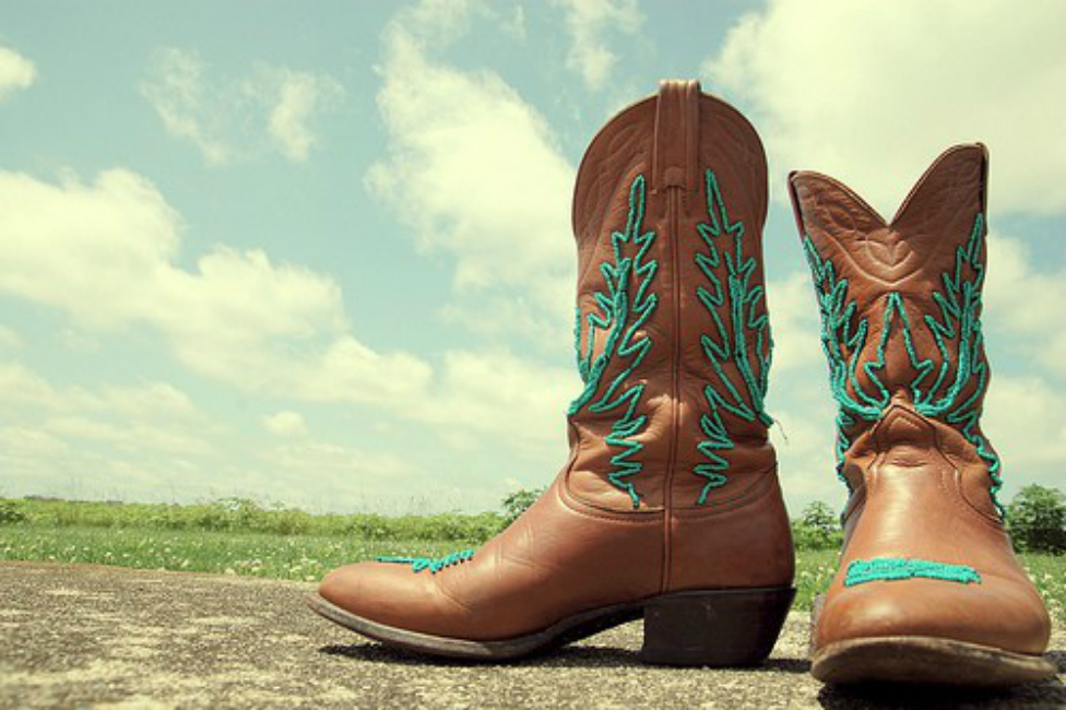 Beaded Cowboy Boots