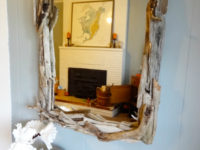 Big Driftwood Mirror 200x150 Budget Friendly Driftwood Mirror Ideas