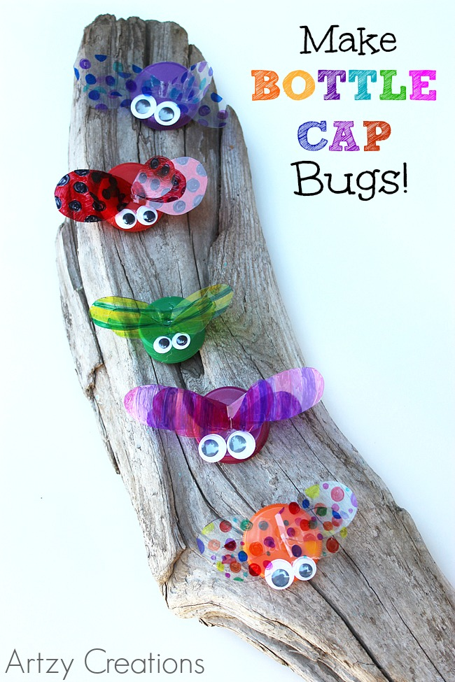 Bottle-Cap-Bugs