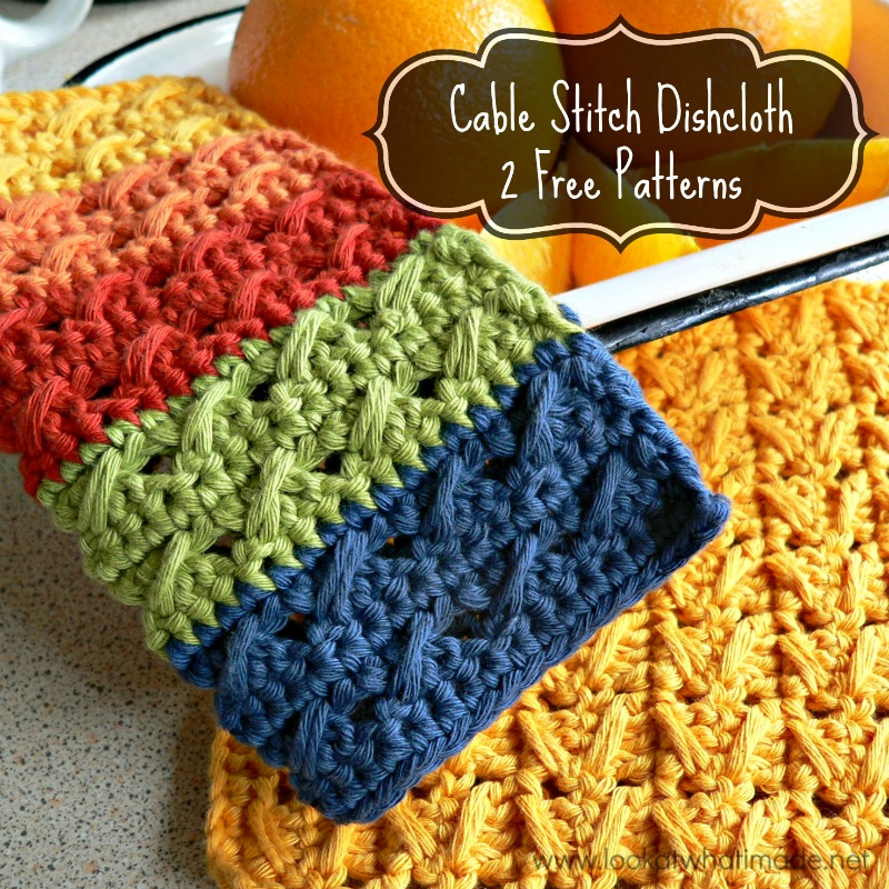 Cable-Stitch-Dishcloth-Pattern