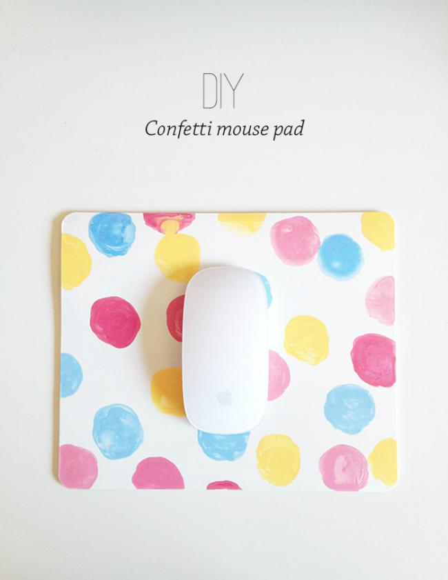 Confetti Mousepad