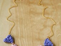 Crochet Bunting Necklace 200x150 Crocheted Jewelry: Far More Special Than Anything in Stores!