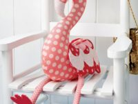 Cute Stuffed Flamingo 200x150 Use These Free Stuffed Animal Patterns to Stitch Up a New Friend for Your Little One