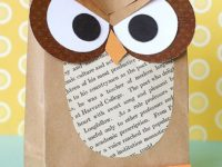 Cute owl paper bag 200x150 These Paper Bag Crafts Are Eco Friendly and Fun!
