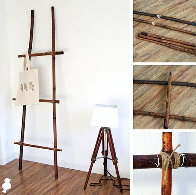 DIY Bamboo Ladder