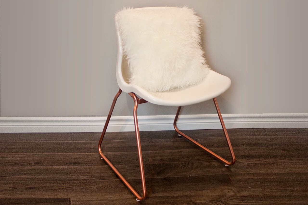 DIY Copper Chair