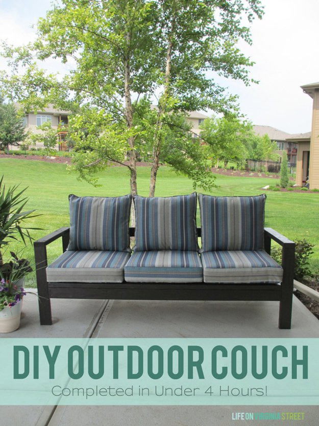 Free Outdoor Furniture Plans Help You Create Your Own