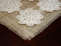 Doily Placemat 200x150 8 Vintage Crafts for Your Home Décor