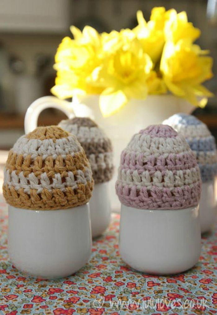 Easter Egg Beanies
