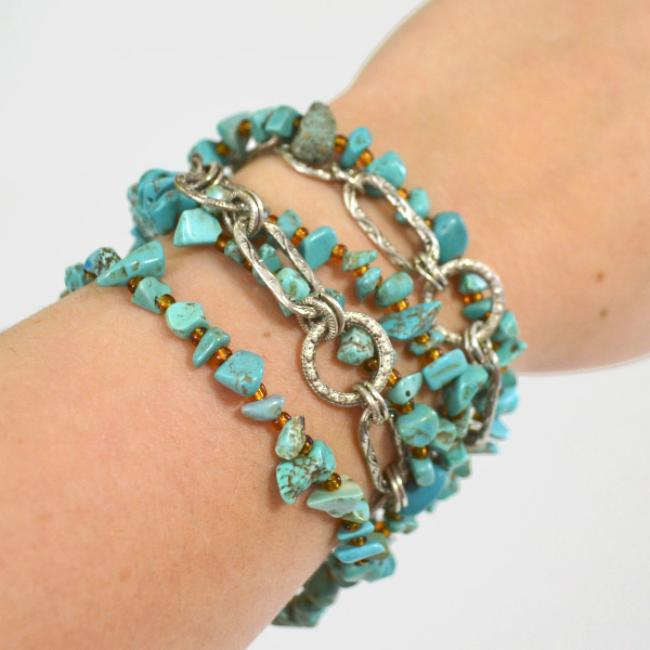 Easy Boho Bracelet
