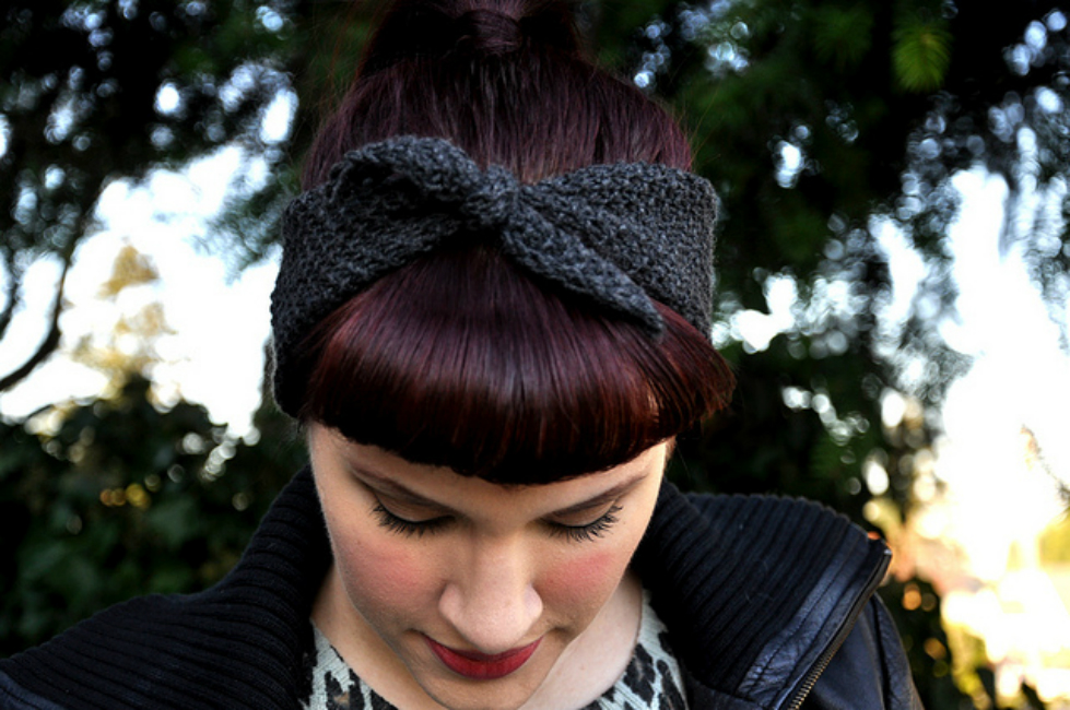 Easy Knitted Headband