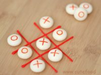 Edible Tic Tac Toe 200x150 DIY Tic Tac Toe Games for Your Children