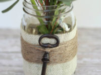Embellished Mason Jar 1 200x150 8 Vintage Crafts for Your Home Décor